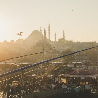Стамбул, фото, бег