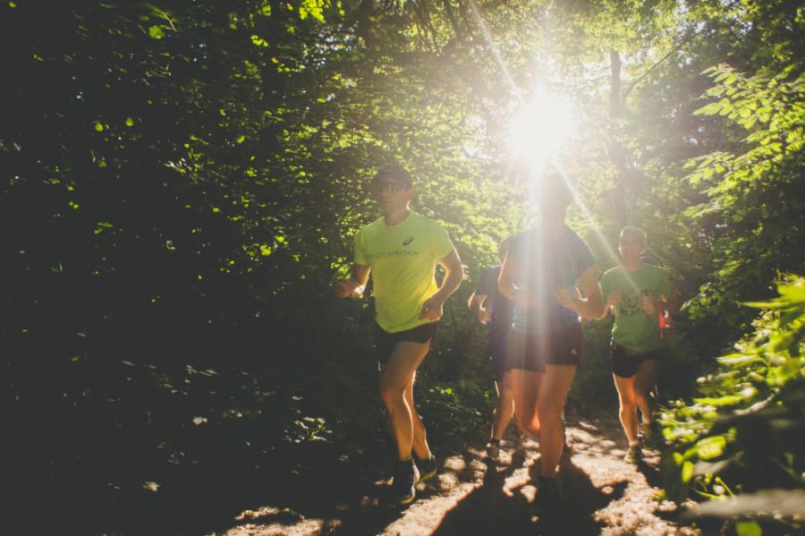 бег, лето, похудение, лес бег, трейл