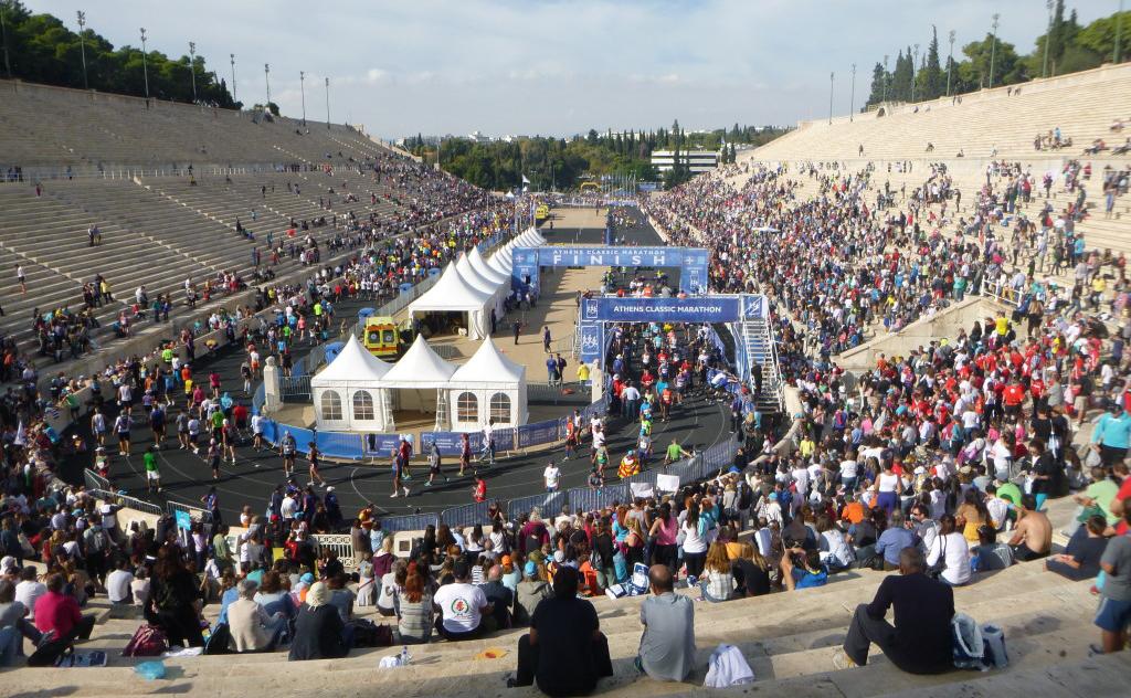 марафон Греция