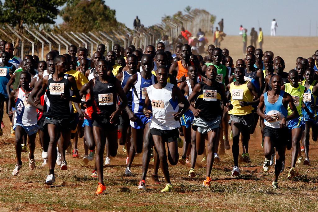 Кения марафон, кения, африка, бег