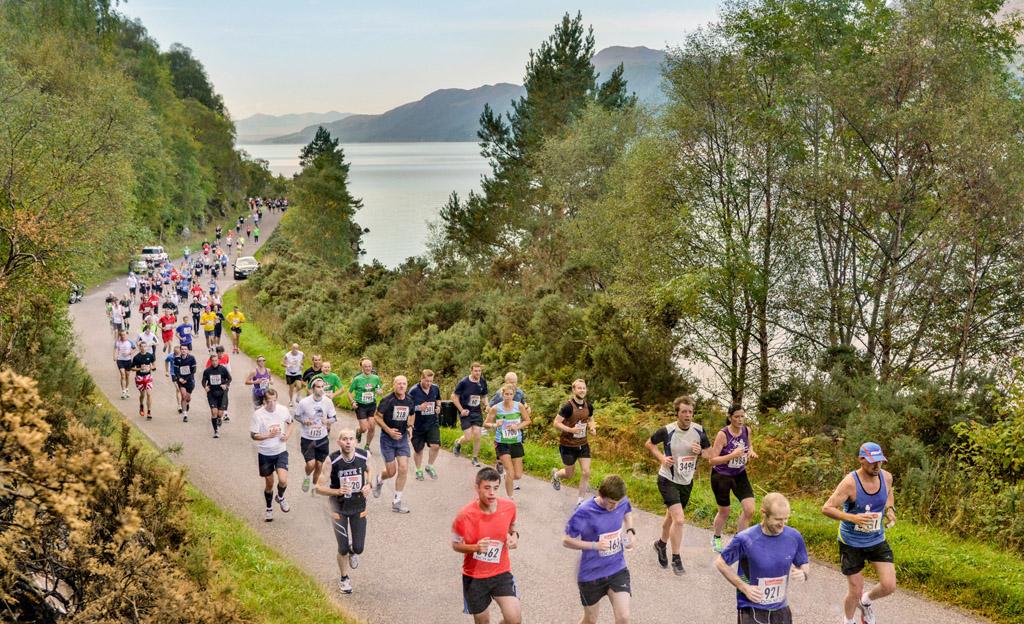 Лох-несс, марафон, Шотландия