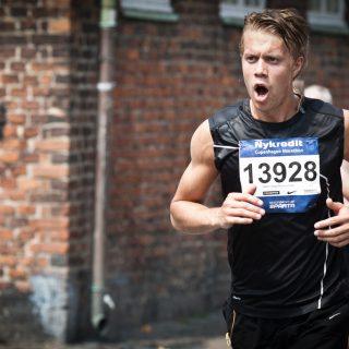 марафон, marathon runner, марафонец, бег, бегущий парень