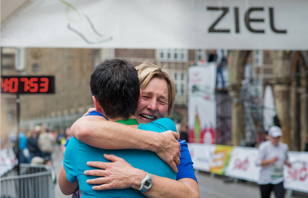 Bremen Marathon Emotions