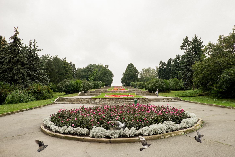 Беговые места Киева. Ботанический сад им. Гришко