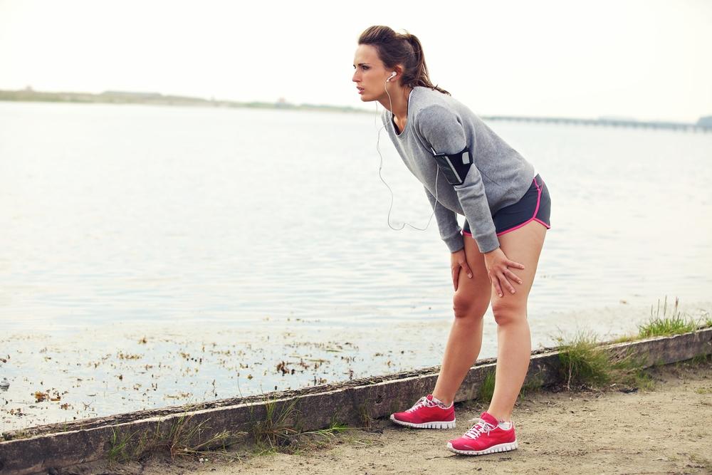 Боль в боку при беге, pain in the side running, tired runner