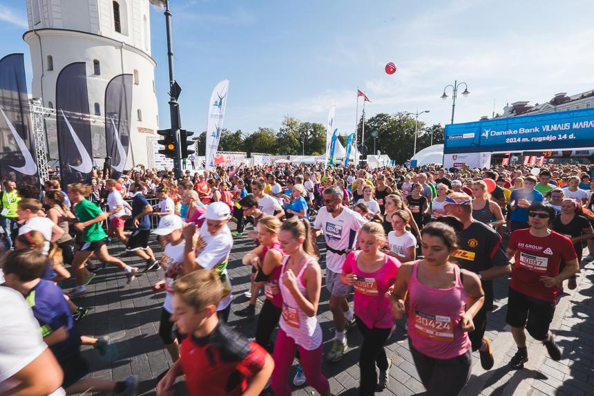 Отчёт о марафоне в Вильнюсе 2014