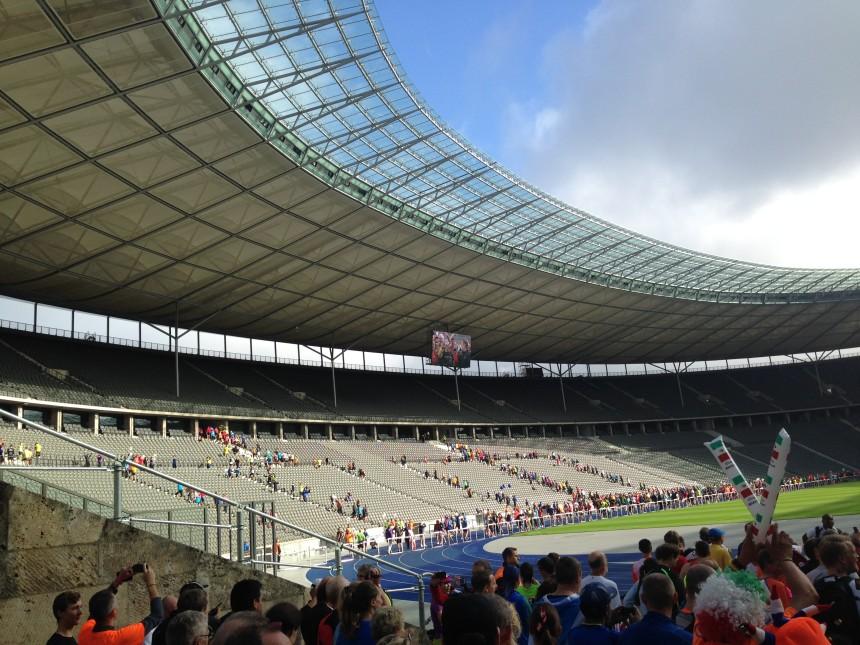 Отчёт о Берлинском марафоне 2014