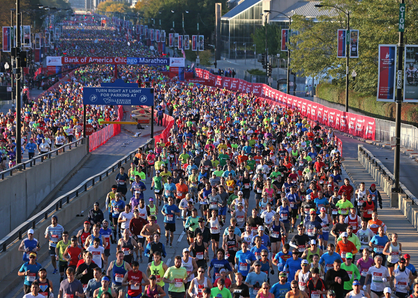 марафон в Чикаго, отчет, фото, chicago marathon