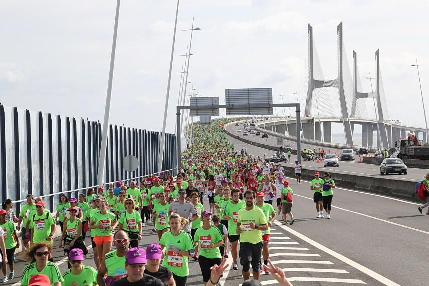 Лиссабон, полумарафон, Rock 'n' Roll marathon, мост васко да гама
