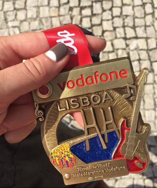 Лиссабон, полумарафон, Rock 'n' Roll marathon медаль