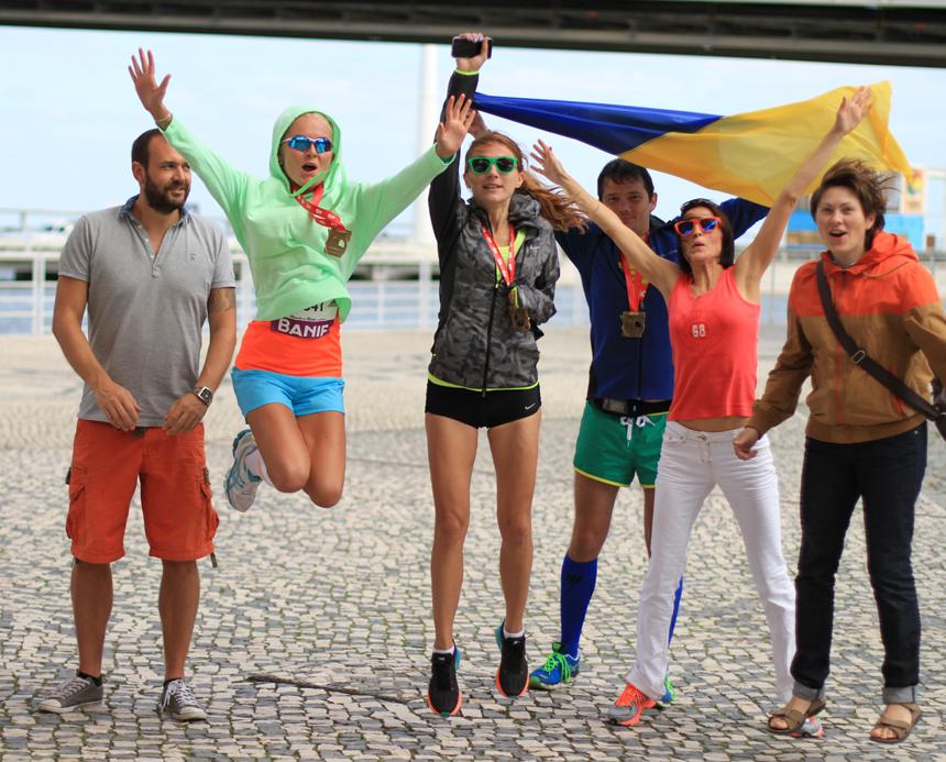 Лиссабон, полумарафон, Rock 'n' Roll marathon, лена ардатова
