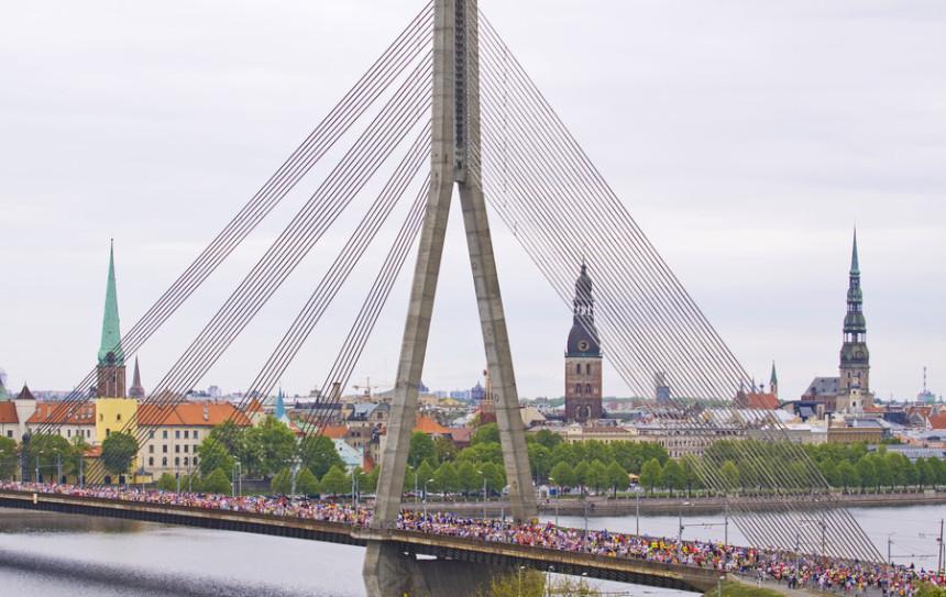 Riga Marathon, Марафон в Риге