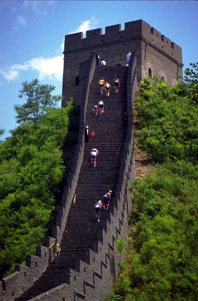 Полумарафон по Великой Китайской стене