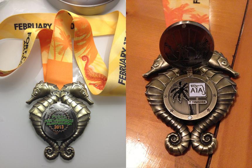 A1A 2013 Medal