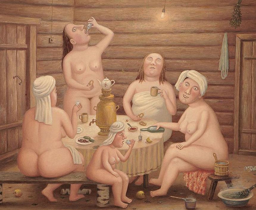 Любаров В. «С легким паром!», 2006.