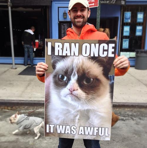 «Я пробежал однажды. Это было ужасно»