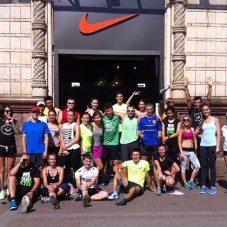 Nike, клуб найк, Киев