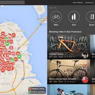 Сан-Франциско, велосипед, аренда велосипеда