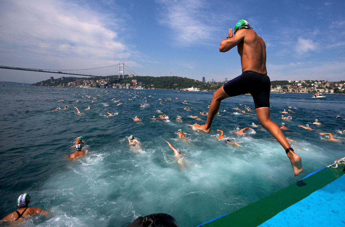 Bosphorus Cross-Continental swimming