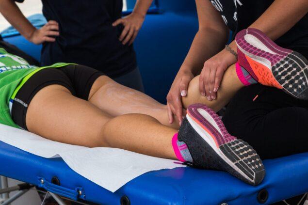 бігун масаж після забігу