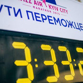 Инфографика: марафоны и полумарафоны Украины в 2014 году