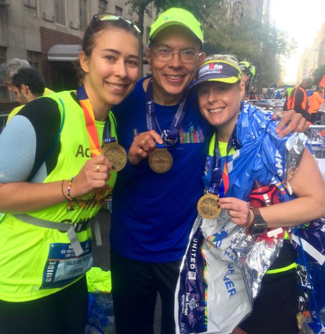 Каково это — быть волонтёром на крупнейшем марафоне мира 9