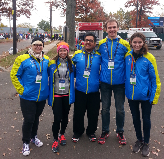 Каково это — быть волонтёром на крупнейшем марафоне мира 1