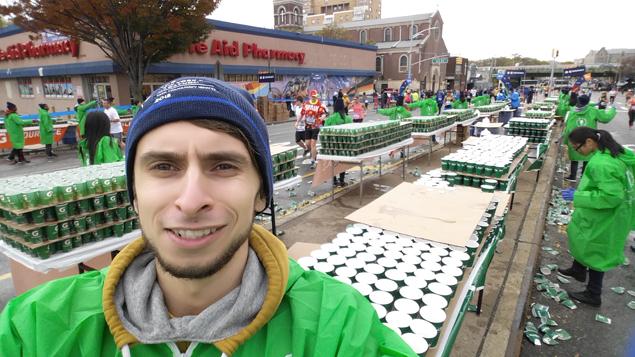 Каково это — быть волонтёром на крупнейшем марафоне мира 5