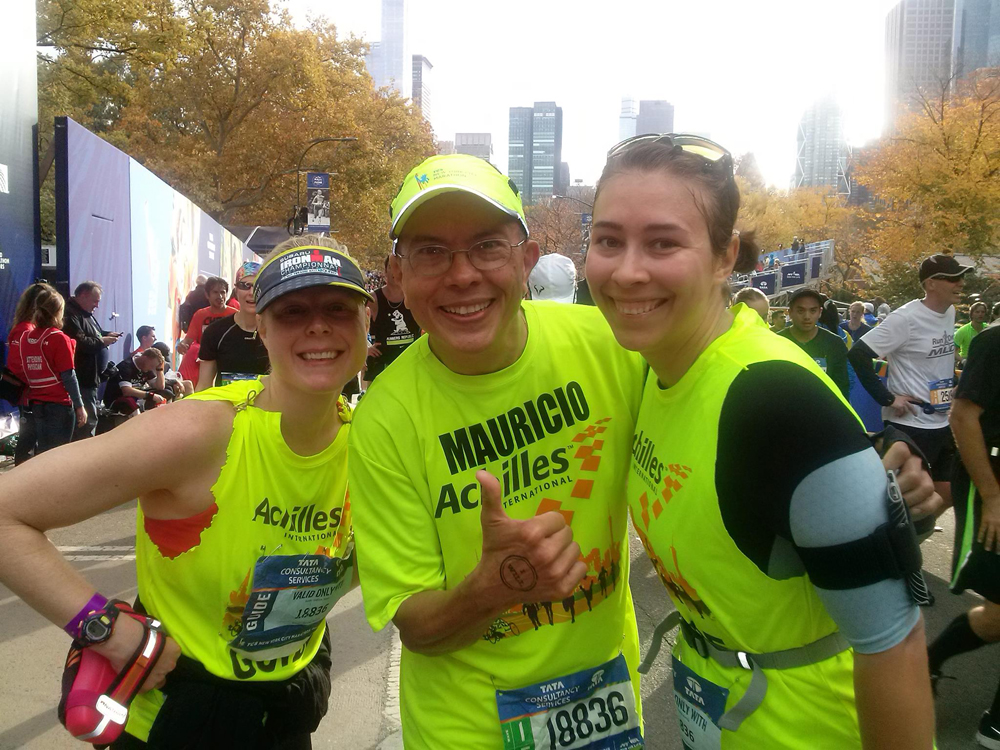 Каково это — быть волонтёром на крупнейшем марафоне мира 8