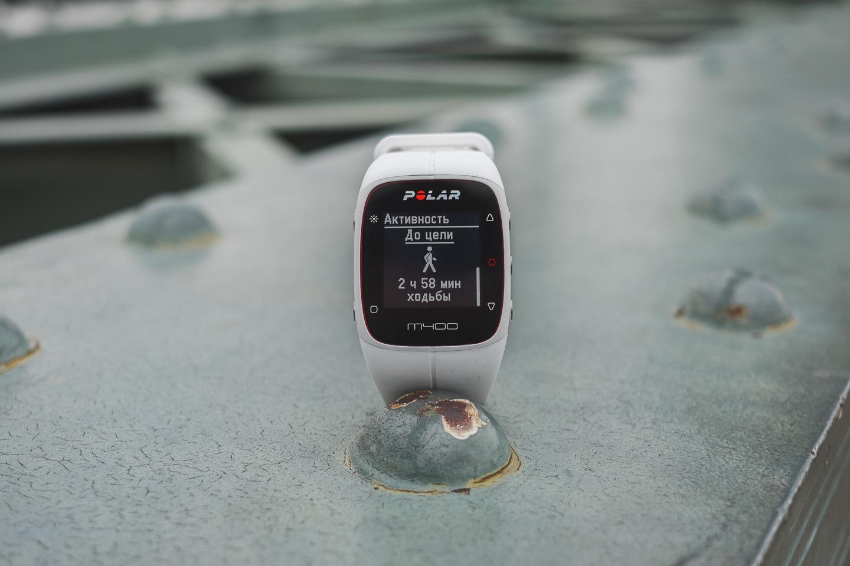 Обзор Polar M400. Три в одном: GPS-часы, трекер активности и smart watch. 7