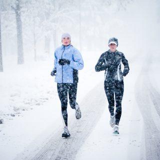 Несколько советов о беге при очень низких температурах