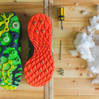 Как сделать кроссовки для бега зимой своими руками