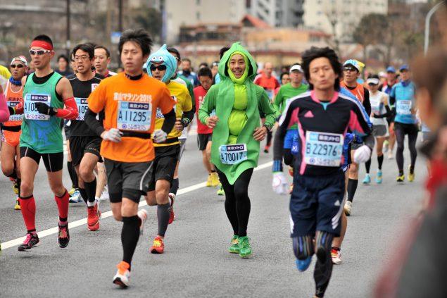 Необычные марафонские костюмы 9