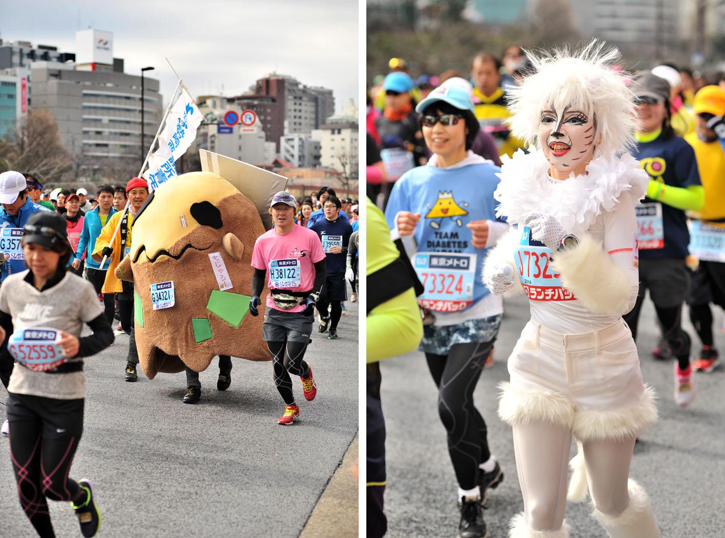 Необычные марафонские костюмы 17