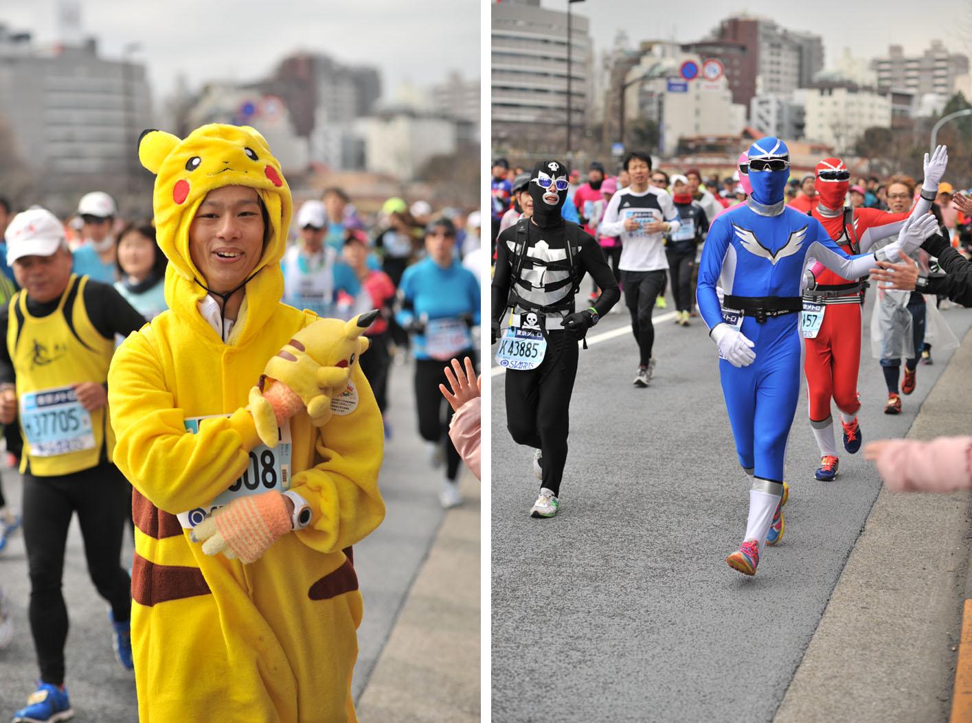 Необычные марафонские костюмы 18