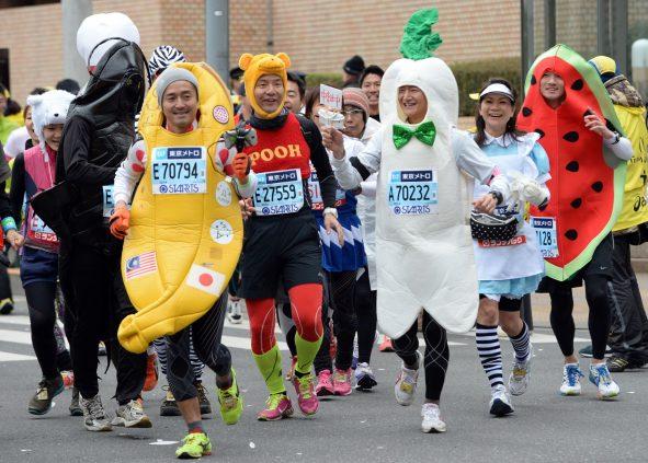Необычные марафонские костюмы 1