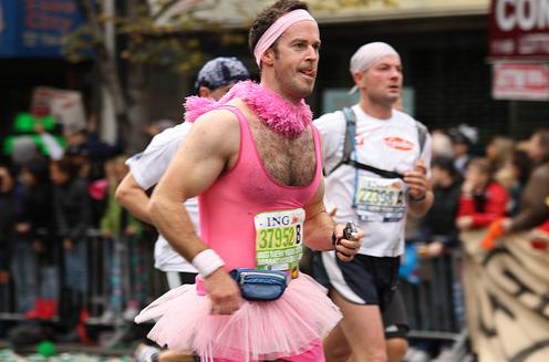 Необычные марафонские костюмы 26