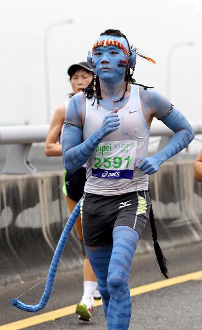 Необычные марафонские костюмы 27