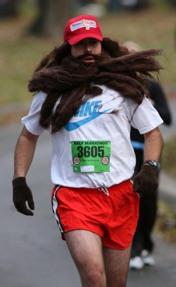 Необычные марафонские костюмы 36