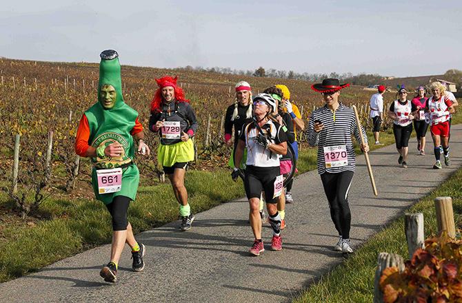 Необычные марафонские костюмы 37