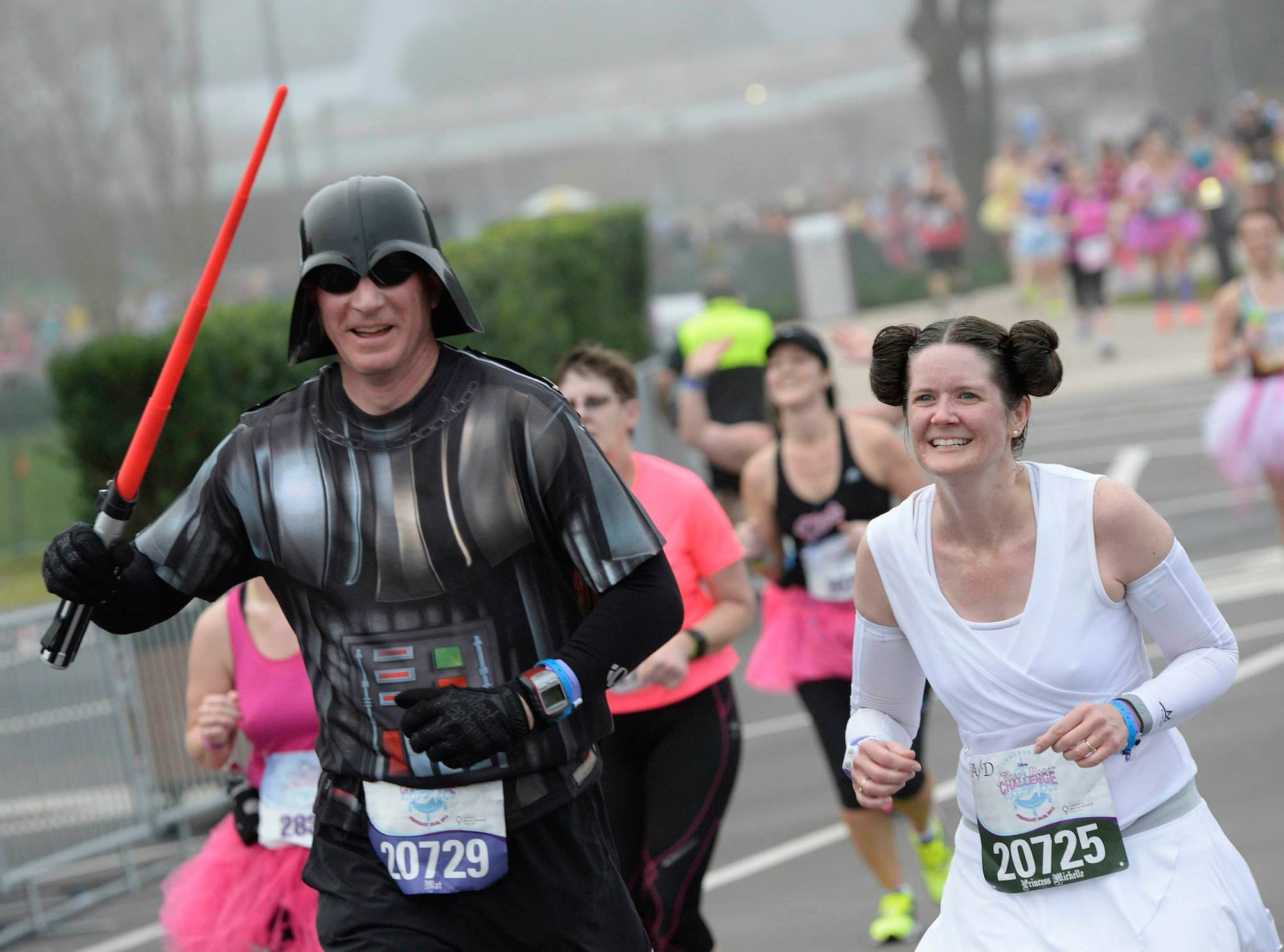 Необычные марафонские костюмы 3