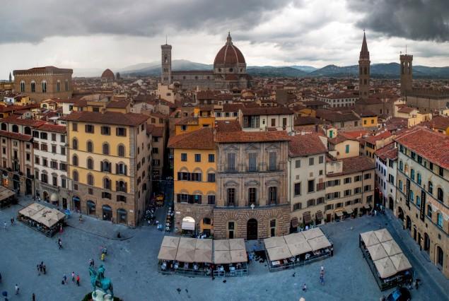 Отчет о полумарафоне во Флоренции 5