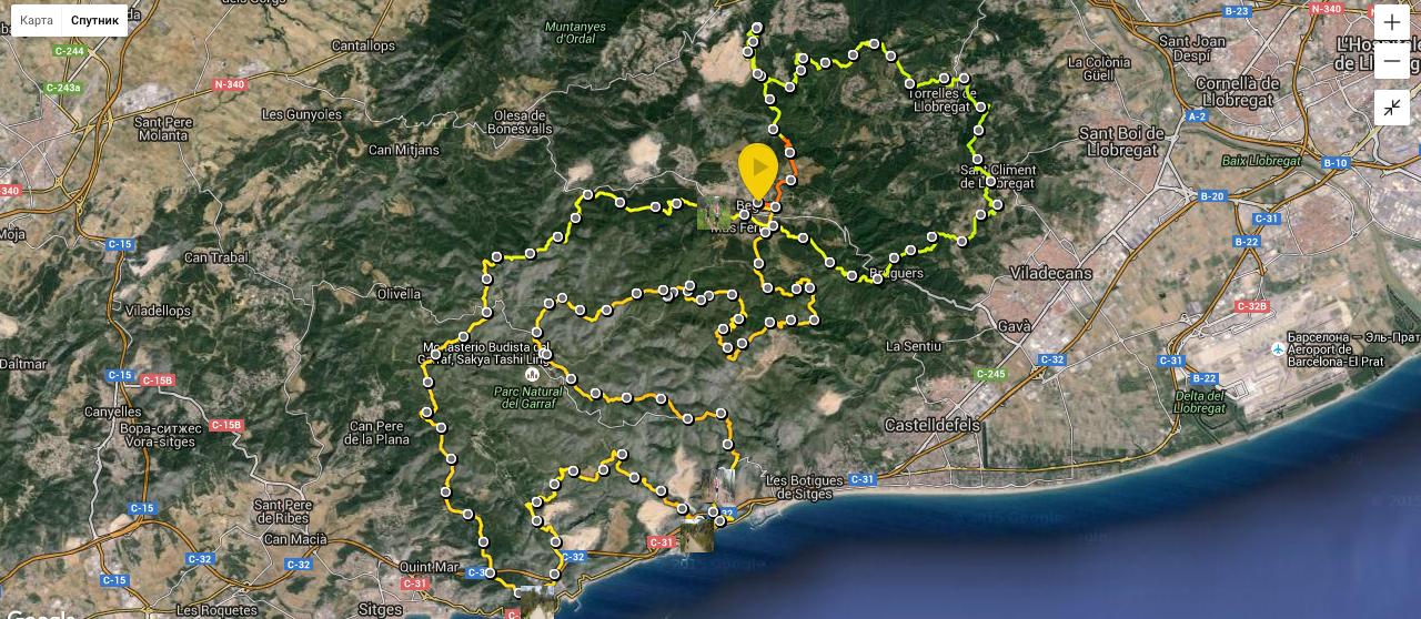 UTBCN – Ultra Trail Barcelona или как обычному человеку пробежать 100 км по горам и остаться в живых 6