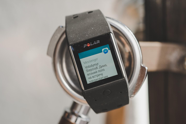 Обзор Polar M600: спортивные GPS-часы с Android Wear 8