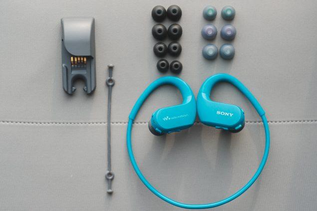 Обзор спортивных наушников Sony Walkman NW-WS413 7