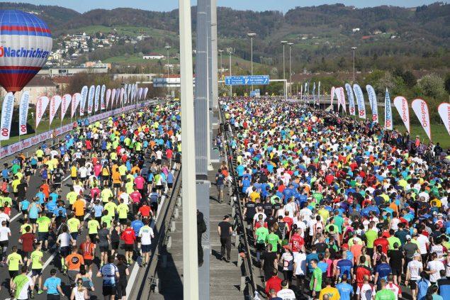 Отчет о марафоне в Линце 2