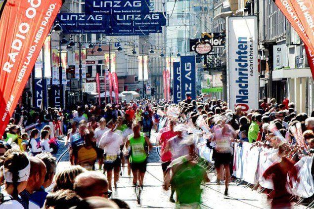 Отчет о марафоне в Линце 5
