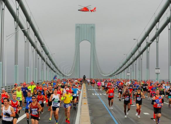«Горожанам удалось создать немного магии». Рассказ о TCS New York City Marathon 2017 6