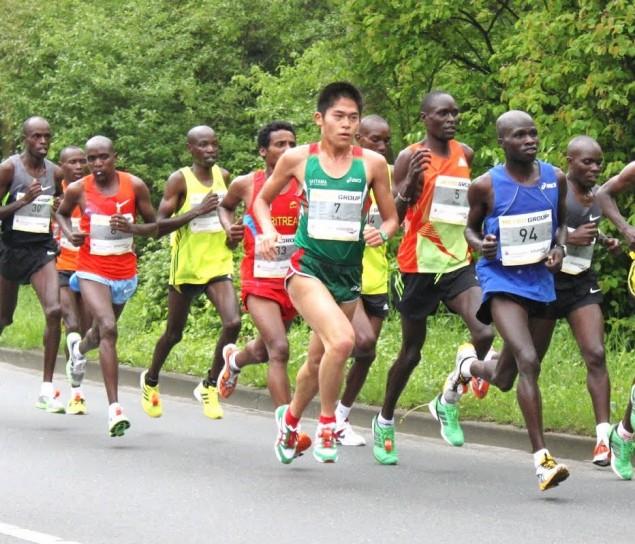 «Офисный марафонец» Юки Каваучи 4