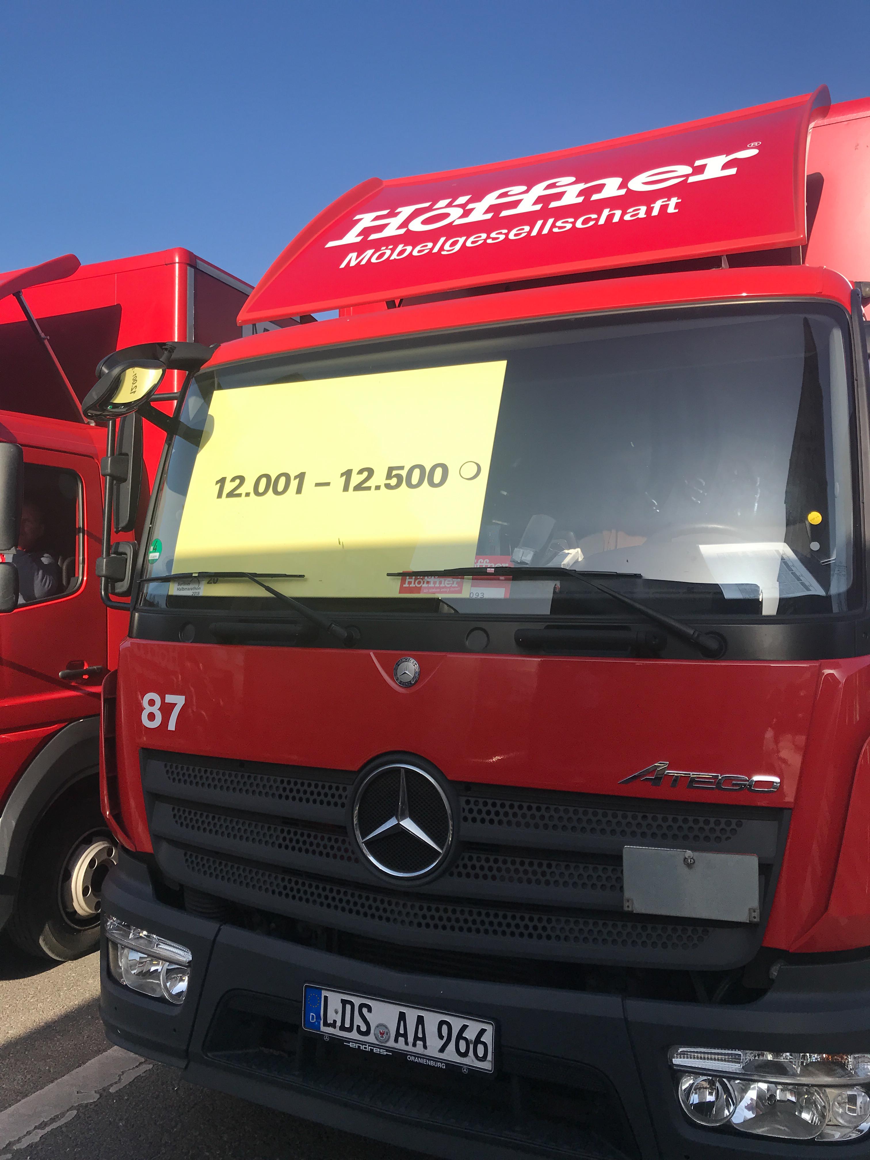 Отчет о полумарафоне в Берлине